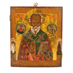 """Koka ikona """"Svētais Nikolajs"""""""