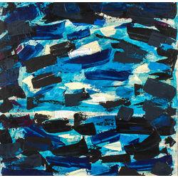 Zilā abstrakcija
