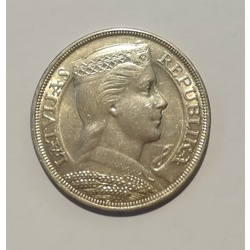 Sudraba pieclatnieka monēta - 1929