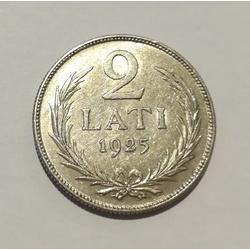 Sudraba divlatnieka monēta - 1925.g.