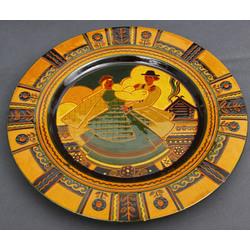 Dekoratīvs keramikas šķīvis