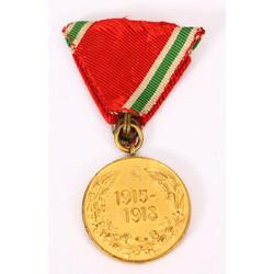 Bronzas medaļa par piedalīšanos Eiropas karā 1915-1918