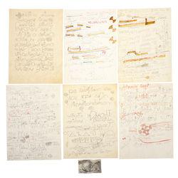 Zīmējumu kolekcija (8 gab.)