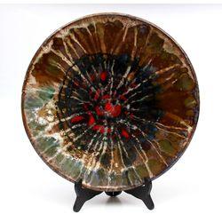 Dekoratīvais keramikas šķīvis