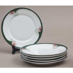 Porcelāna sķīvji (6 gab.)