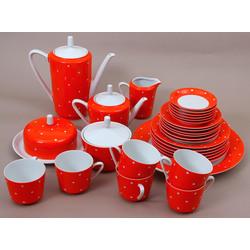 Porcelana tējas/kafijas servīze 6 personām