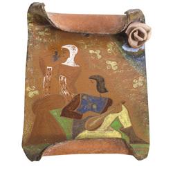 Keramikas sienas panno