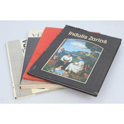 4 mākslas grāmatas - Latviešu tēlniecības vecmeistari, Arhitektūra un dizains, Indulis Zariņš, Ugunī dzimusi