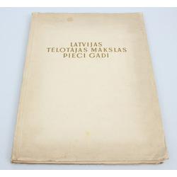 Latvijas Tēlotājas mākslas pieci gadi(1934-1939)