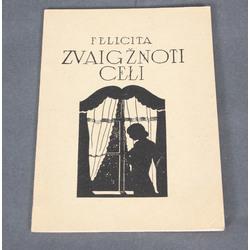 Felicita, Zvaigzņoti ceļi(ar autores autogrāfu), ar Sigismunda Vidberga vāku