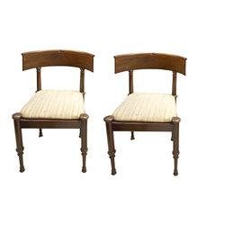 Sarkankoka krēslu pāris