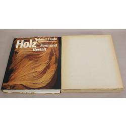 Helmut Flade, Holz. Form und Gestalt (grāmata par mālu), oriģinālajā kastē