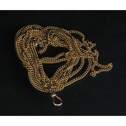Zelta kabatas pulksteņa ķēde