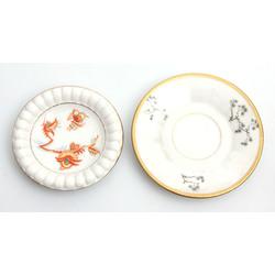 Dekoratīvie porcelāna šķīvīši 2gab.