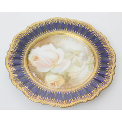 Dekoratīvs porcelāna šķīvitis