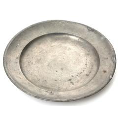 Alpaka šķīvis ar gravējumu