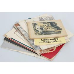 Dažādi mākslas katalogi  (17 gab)
