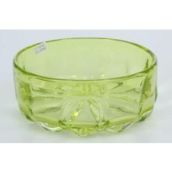 Krāsaina stikla augļu trauks