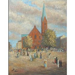 Pie VEcās Ģetrūdes baznīcas, Rīga