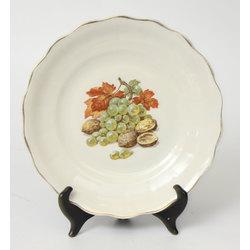 Servējamais porcelāna šķīvis