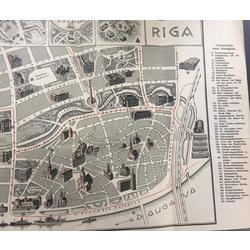 Rīgas karte