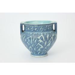 Apgleznots keramikas kašpo