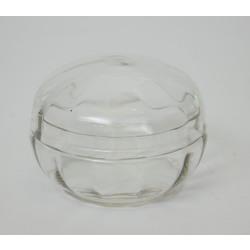 Stikla trauciņš ar vāku