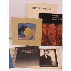Dažādu katalogu kolekcija 6 gab