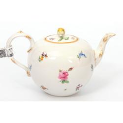 Meisenes porcelāna tējkanna