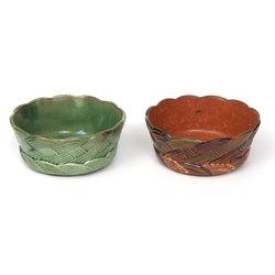 Keramikas bļodas 2 gab.