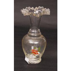 Jūgenstila stikla vāzīte