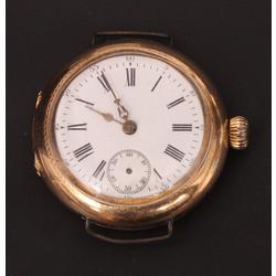 Zelta pulkstenis bez siksniņas