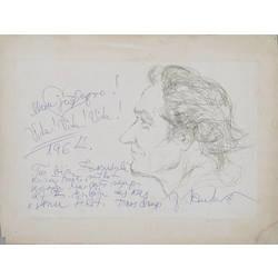 Mākslinieka J. Pauļuka portrets