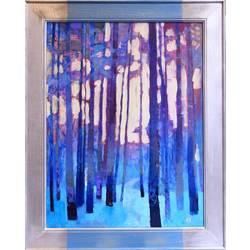 Zilais mežs