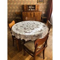 Bufete, galds, 6 krēsli