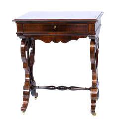 Bīdermeijera stila palisandra galdiņš