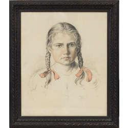 Meitenes portrets