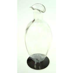 Divkrāsaina stikla vāzīte
