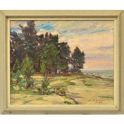 Piejūras ainava