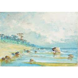 Rīts vidzemes jūrmalā