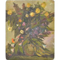 Klusā daba ar ziediem / Vasara