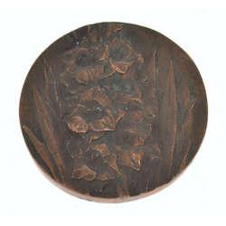Bronzas galda medaļa