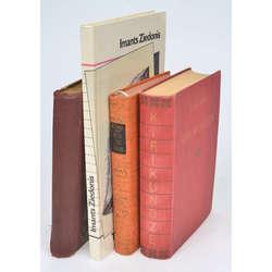 Dažādas grāmatas 4gab.