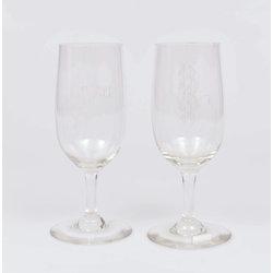 Stikla glāzes ( 2 gab.)