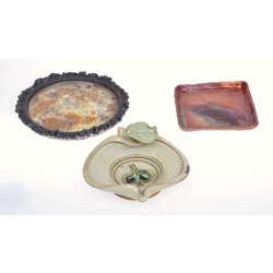 4 autordarbu keramikas izstrādājumi