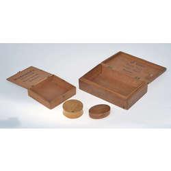 Dažāda izmēra koka kastītes ( 4 gab.)