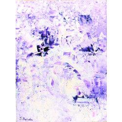 Abstrakta kompozīcija Ziema ir gara