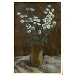 Vāze ar ziediem