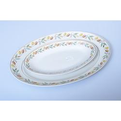 Porcelāna servejamie šķīvji 2 gab