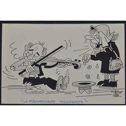 Karikatūra žurnālam Dadzis